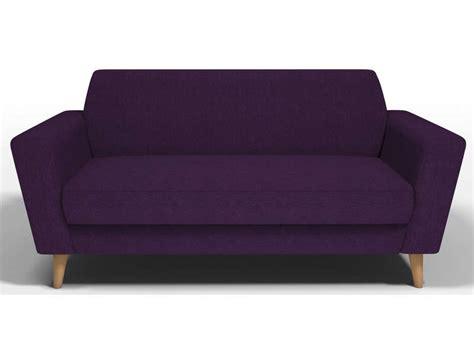 pipi de chien sur canapé en tissu canapé fixe 3 places en tissu ikonn coloris violine