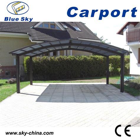 Carport Für 4 Autos by 2 Voiture En M 233 Tal Carport En Aluminium Carport Courbe