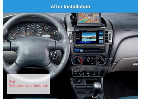 wonderful 1din 2001 2006 nissan almera sentra car radio fascia stereo dash face plate panel