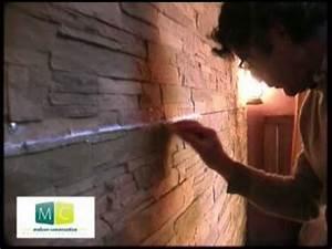 Pose Pierre De Parement : pose parement mural nmc d co fausse pierre imitation ~ Dailycaller-alerts.com Idées de Décoration