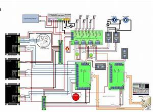 Cnc Wiring Diagram Cnc Pinterest And Router With Breakout