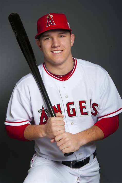 mike trout   los angeles angels  anaheim