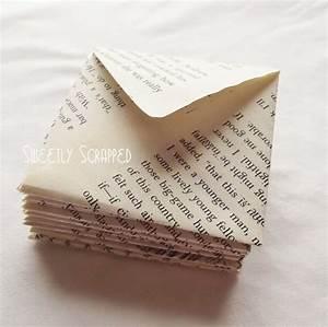 Aus Büchern Falten : couvert aus buchseite gefaltet verpacktes pinterest b cher papier und briefumschlag ~ Bigdaddyawards.com Haus und Dekorationen
