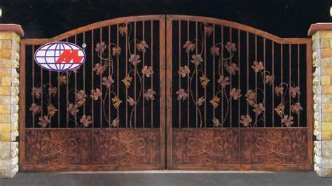 wood and iron gates designs man jaya engineering latest design for iron and wood gate