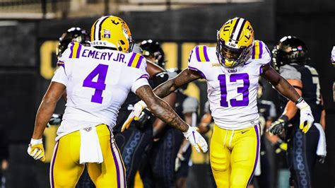 College football scores, NCAA top 25 rankings, Week 5: LSU ...