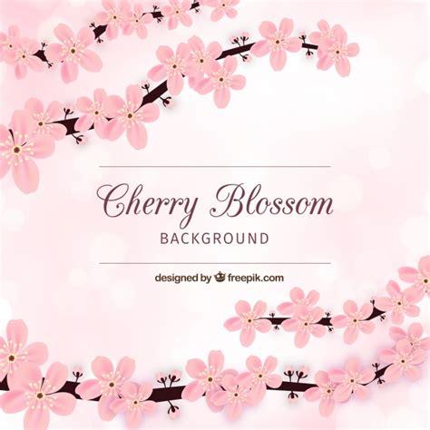 foto de Cartão de flor de cerejeira Baixar vetores grátis