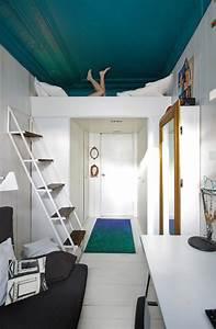 peindre un plafond en couleur systembaseco With peindre des poutres en bois 13 inspirations osez peindre votre plafond frenchy fancy
