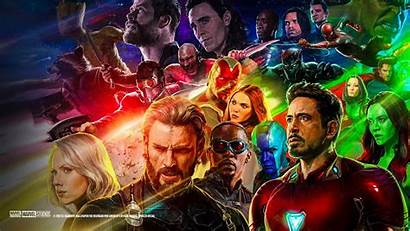 Avengers Infinity War Wallpapers Marvel Characters Poster