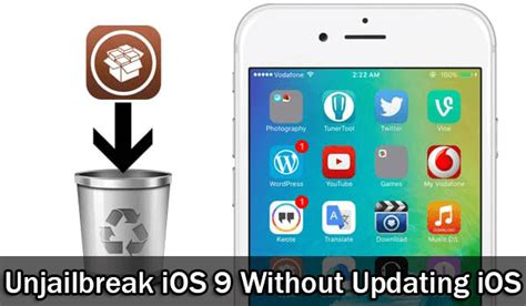 how to unjailbreak iphone without computer how to unjailbreak ios 9 without restore or cydia impactor