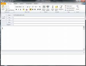how to open outlook template - how to send an html e mail from outlook 2010 update