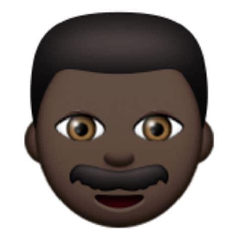 black emoji android black emoji u 1f468 u 1f3ff