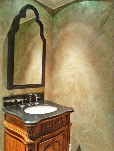 Faux Painting Ideas For Bathroom by 82 Best Metallic Plaster Projects Images On