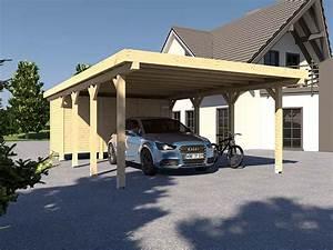 Carport Mit Geräteraum Preis : carport flachdach avus xii 500 x 800 cm mit ger teraum ~ Articles-book.com Haus und Dekorationen