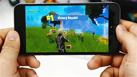 fortnite mobile app ios