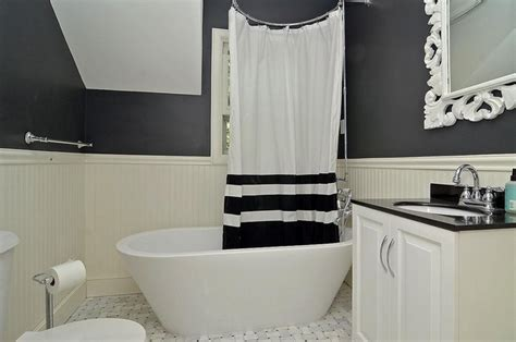 Black And White Bathroom-modern-bathroom-minneapolis