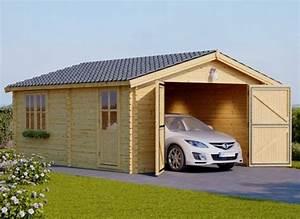 Garage Pour Voiture : bien plus qu 39 un simple garage en bois ~ Voncanada.com Idées de Décoration
