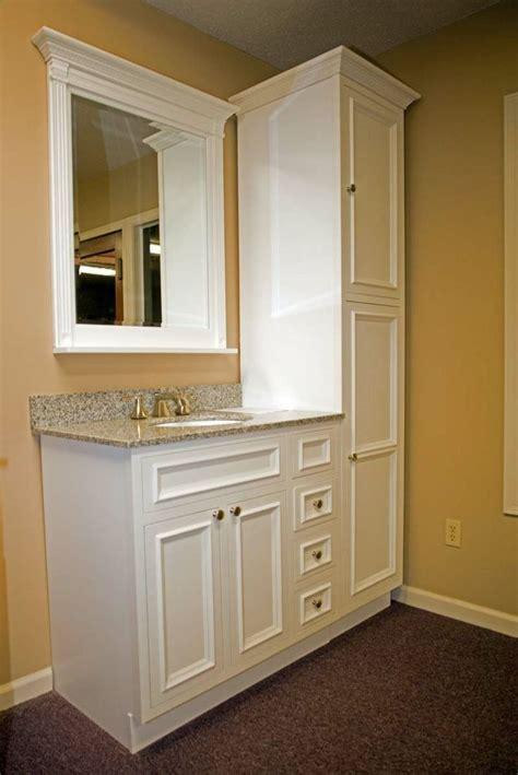 bathroom vanity storage ideas  pinterest