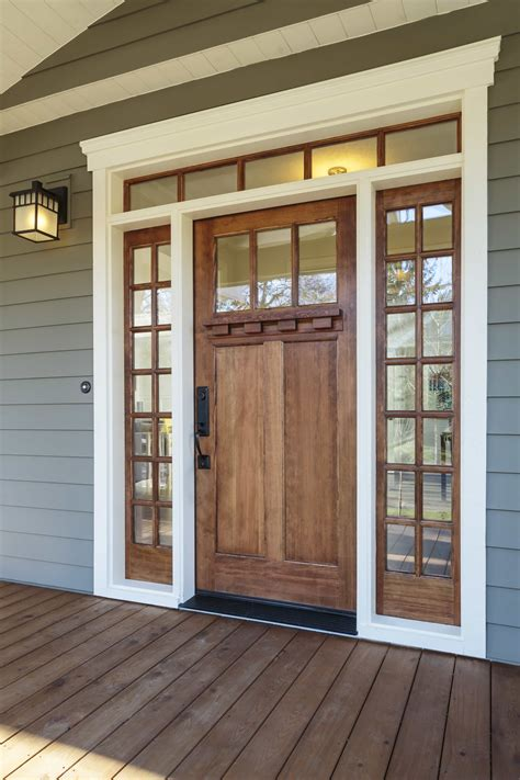 give your home a facelift with wood entry doors