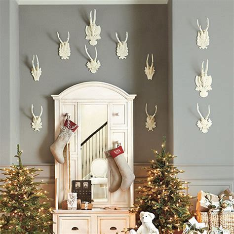 decorating  deer heads  antlers real  whimsical
