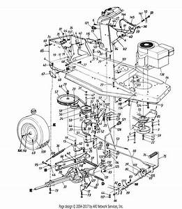 Cub Cadet Lt1042 Drive Belt Diagram