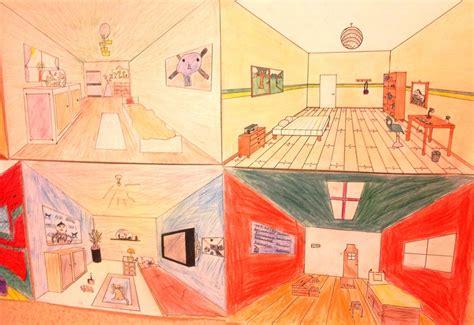 la chambre de gogh travail sur la perspective à partir de quot la chambre à arles