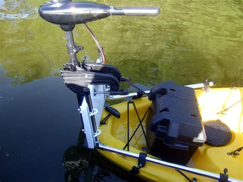 Electric Trolling Motor On A Canoe by Universal Trolling Motor Bracket For Your Kayak Or Canoe