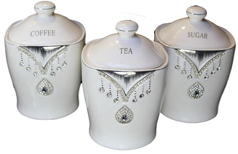 kitchen tea coffee sugar canisters tea sugar coffee sets best home design 2018