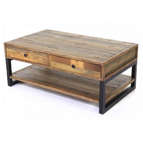 cuisine basse table basse vieux bois et metal ezooq com