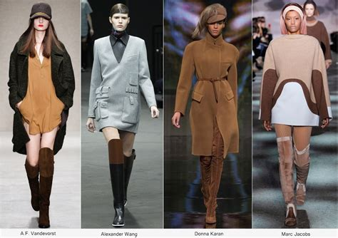 Over The Knee Leather Boots Fall Winter Fashion