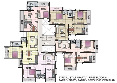 builder house plans apartment structures apartment floor plans of shri