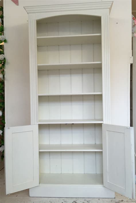 white painted cupboard base bookcase home sweet homehome