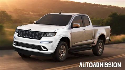 New Truck 2015 by 2015 Jeep Comanche Compact Truck