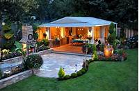 backyard landscape plans 35 Outdoor Living Space For Your Home