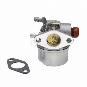 Carburetor For Tecumseh 5hp 6hp 6 Hp 193cc Hor Ohv Go Kart