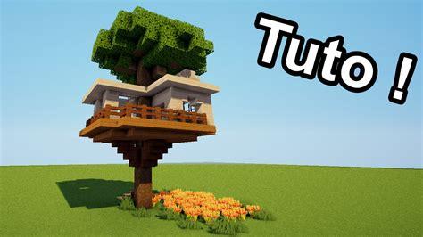 minecraft tuto comment faire une cabane dans un arbre