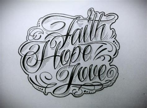 faith love hope tattoo drawing tattoo ideas tats