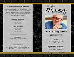 Free Job Card Template 26 Funeral Program Templates Word Psd Google Docs