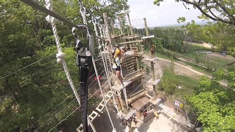 high ropes obstacle gopro youtube