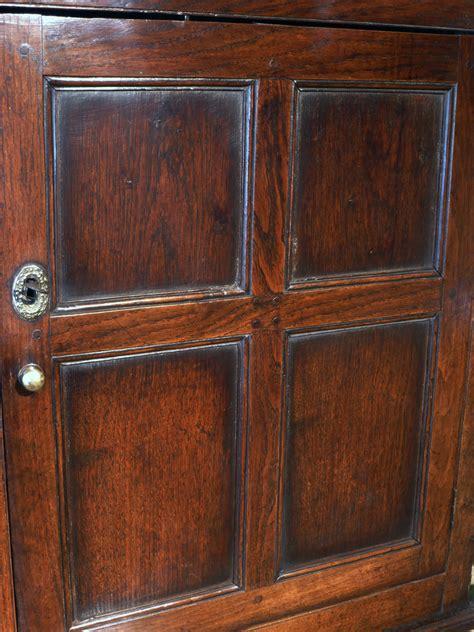 antique oak cupboard  wooden cupboard georgian