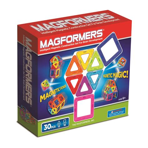 Magformers Vs Magna Tiles 2015 by Magformers Magformers Rainbow Set 30 Pcs Toys