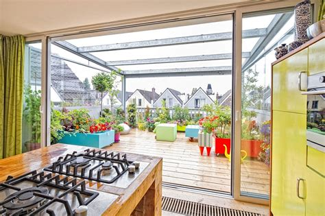 Renovation Ideas For Kitchen - dynamic dutch apartment wows with adaptable roof terrace