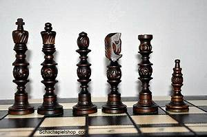 Schachspiel Holz Edel : schach ein edel schachspiel aus holz ajedrez 57x57 ~ Watch28wear.com Haus und Dekorationen