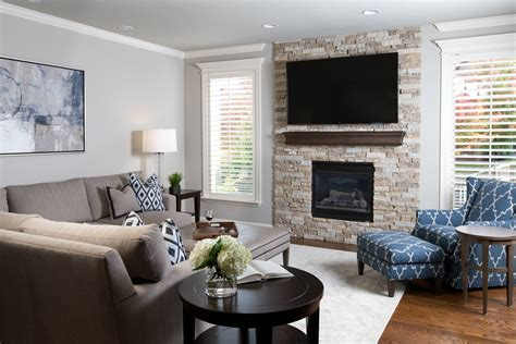 A Tale of Two Fireplaces: A Design Connection, Inc
