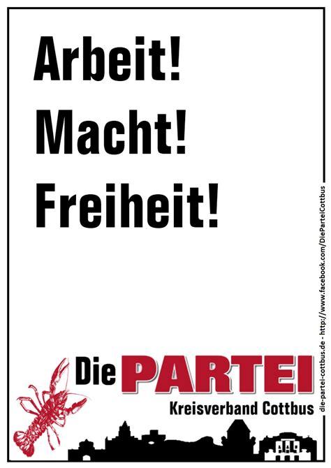 plakate und postkarten die partei cottbus