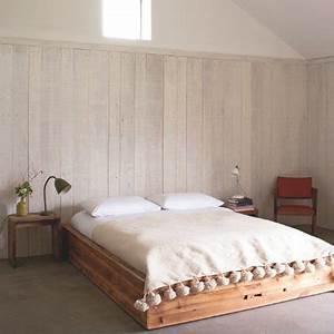 le lambris dans la chambre marie claire With chambre avec lambris bois