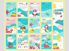 Download Cute Calendar 2019 Printable Template March