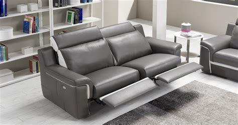 canapé relaxation cuir cilia canapé cuir relaxation électrique personnalisable