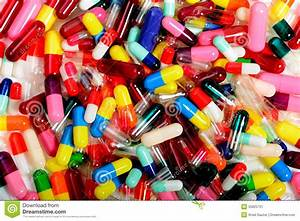 Capsules Stock Image  Image Of Hospital  Clinical  Colored