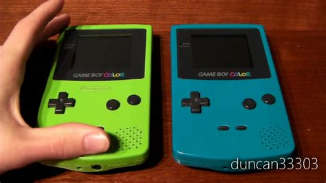 gameboy color green boy color review