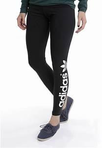 Adidas trefoil logo leggings   Adidou